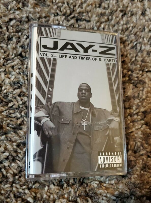 Jay-Z- Life And Times Of S. Carter Vol 3 - Original 1999 Cassette Tape - Def Jam