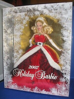 2007 HOLIDAY BARBIE COLLECTOR  BARBIE DOLL, NRFB SEALED