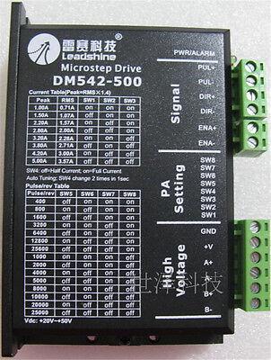 Leadshine 2ph Motor Driver Controller M542 4.2A Match Nema17 23 Stepper Motor