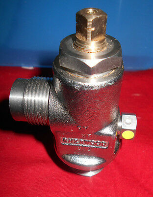 Sherwood Cga-626 Valve 303 Stainless Steel3360 Psi165 Degree F34 X 1 Npt