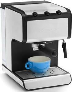 Andrew James Espresso Coffee Machine Maker Barista Latte Cappuccino 15 Bar Pump