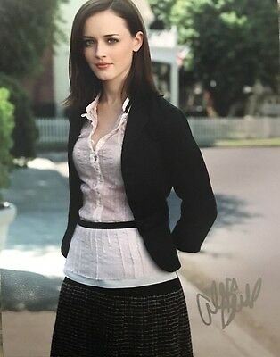 Alexis Bledel Gilmore Girls Signed Photo 11X14 Exact Proof