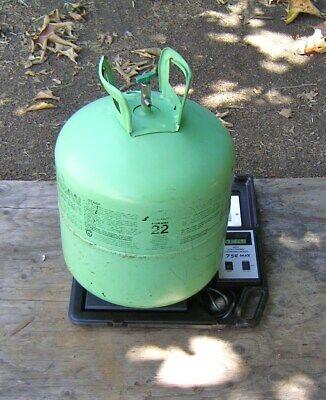 Refrigerant R22  Full 50 Lb Tank 57 Pound Gross . Air Conditioning Hvac