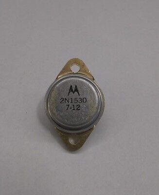 Motorola 2n1530 Vintage Germanium Transistor Gold Leads
