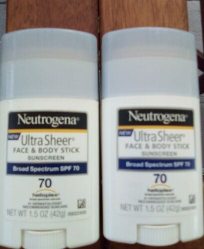 Neutrogena Ultra Sheer Non-Greasy Sunscreen Stick for Face &