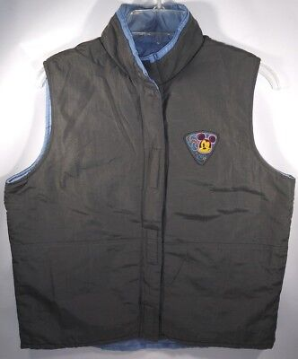 Disney Clothing For Adults (Jerry Leigh Apparel for Disney Mickey Unlimited No Sleeves Outdoor Jacket Size)
