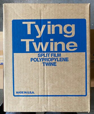 New - Pro-tie 5500 Ft Polypropylene Tying Box Twine 210 Lb Tensile Made In Usa