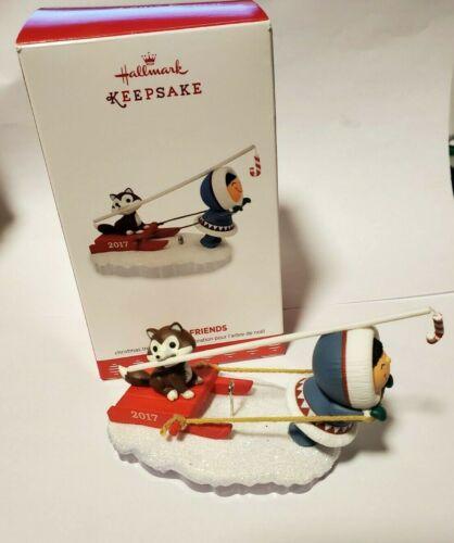 Hallmark Keepsake Ornament. Frosty Friends 2017 38th In Series Original box