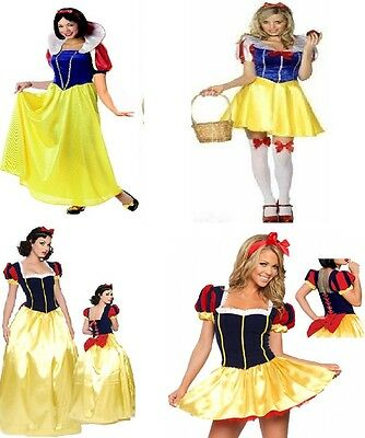 LADIES SNOW WHITE & THE 7 DWARFS COSTUMES  (7 Dwarfs Costumes)