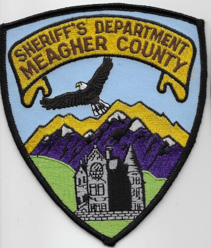 Meagher County Sheriff State Montana MT Scenic