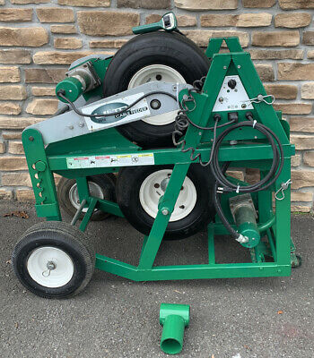 Greenlee 6810 Ultra Cable Feeder Works W Super Tugger Puller Great Shape