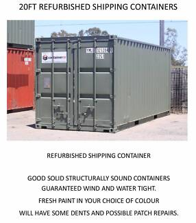 Shipping Containers Ex. Windsor - 10FT, 20FT & 40FT