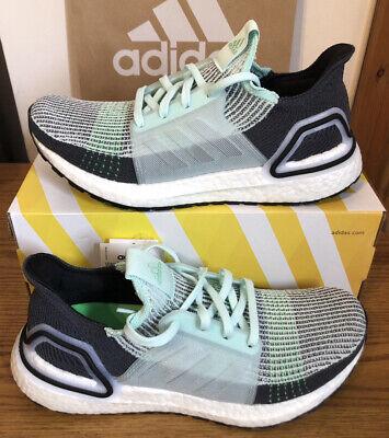 Adidas UltraBoost 19 Running Trainers UK9.5 (F35244) US10 New Genuine