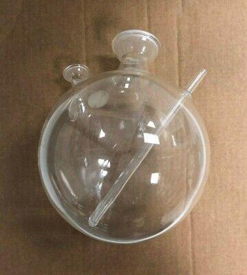 Boiling Flask W 3 Necks Chemistry Lab Glassware