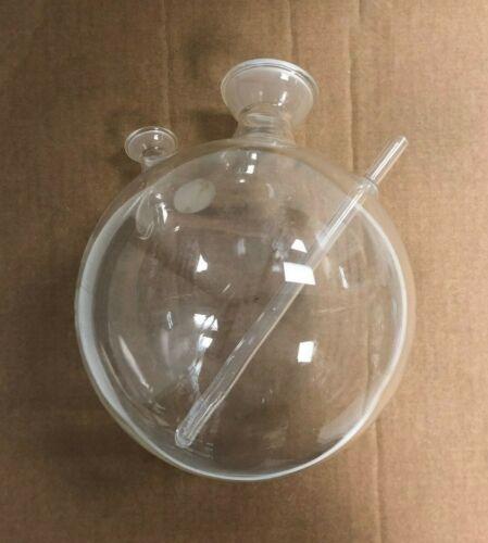 Boiling Flask w/ 3 necks Chemistry Lab Glassware