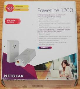 NETGEAR Powerline 1200 + 1 port - Starter Kit