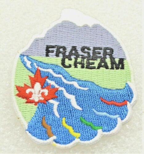 FRASER CHEAM District Boy Scout Uniform Badge Canadian (BCF7A)