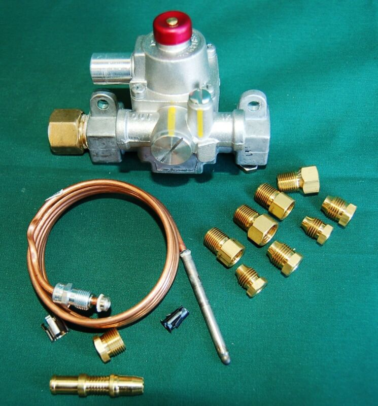 FMDA SAFETY VALVE REPLACEMENT KIT - BARI PIZZA OVENS