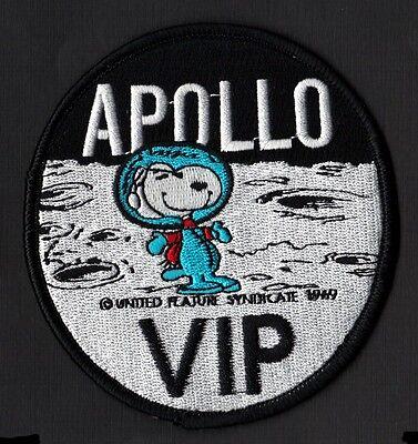 "SNOOPY - APOLLO VIP - NASA - 4""  SPACE PATCH - MINT *****"