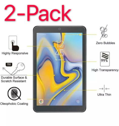 2-PACK Tempered Glass Screen Protector For Samsung Galaxy Tab A 8.4 T307 (2020)