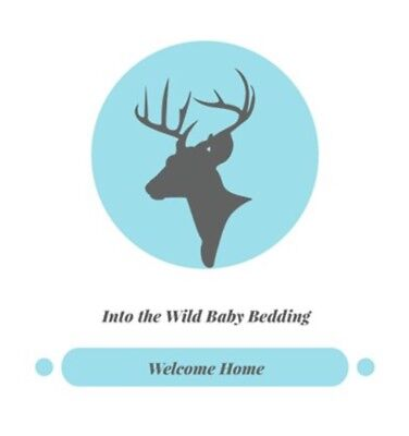 Used, Into The Wild Baby Bedding 4 Piece Elk Plaid Nursery Set for sale  Teulon