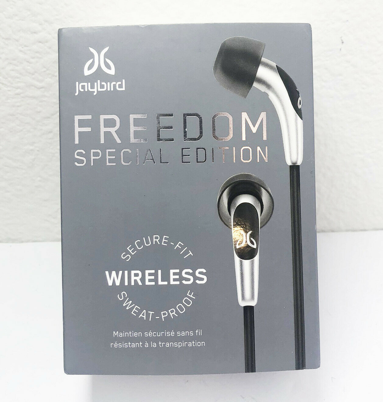 NEW Jaybird Freedom F5 Wireless In-Ear Headphones Black Spec