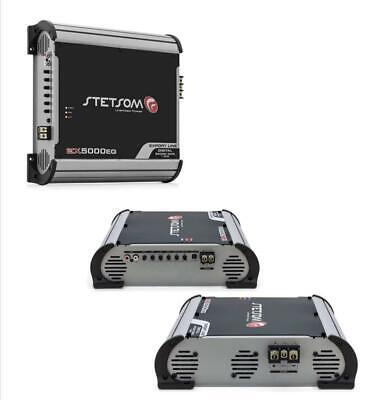 Stetsom EX5000 EQ – 1 OHM Mono High Power Car Audio Amplifier 5,600 w RMS at 14V, usado comprar usado  Enviando para Brazil