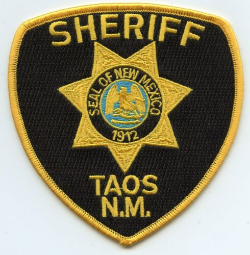 TAOS COUNTY NEW MEXICO NM SHERIFF POLICE PATCH