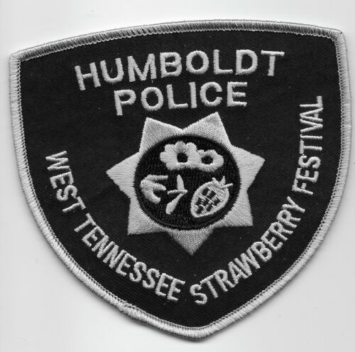 Humboldt Police State Tennessee TN Strawberry Festival