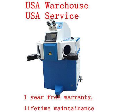 Jewellery Laser Welder Laser Welding Machine 200w- Usa Warehouseusa Service