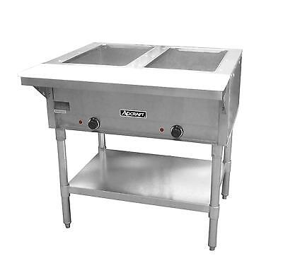 Adcraft St120-2 2 Bay Open Well Steam Table Ce
