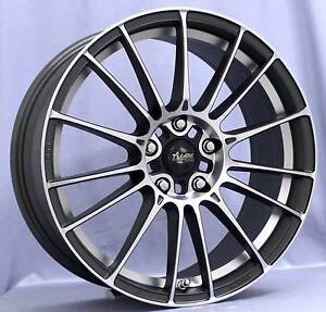 Advanti Racing 19 inch 5x112 235/35 Vw Audi Mercedes with tyres Botany Botany Bay Area Preview