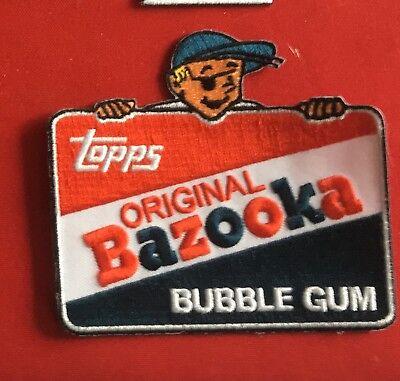 Topps Original Bazooka Bubble Gum advertizing patch 3-1/2 X 4 #2444 - Bazooka Bubble Gum