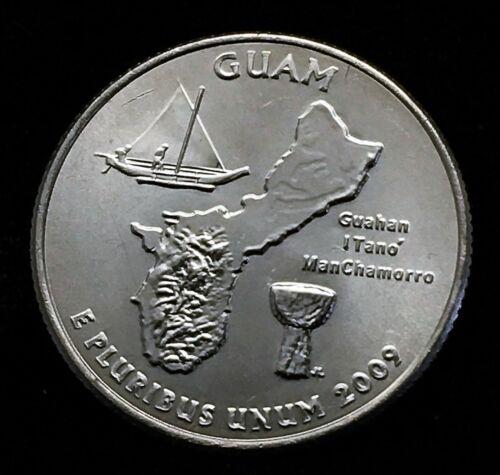 2009 P MINT Guam Territorial Quarter :: Uncirculated :: GU :: Shipping Discount!