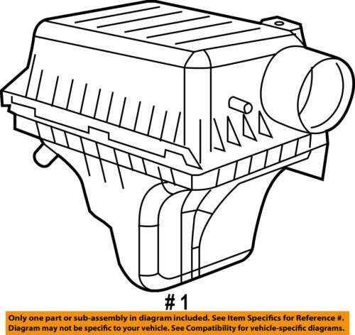 Chrysler Oem Air Filter 4593872ac