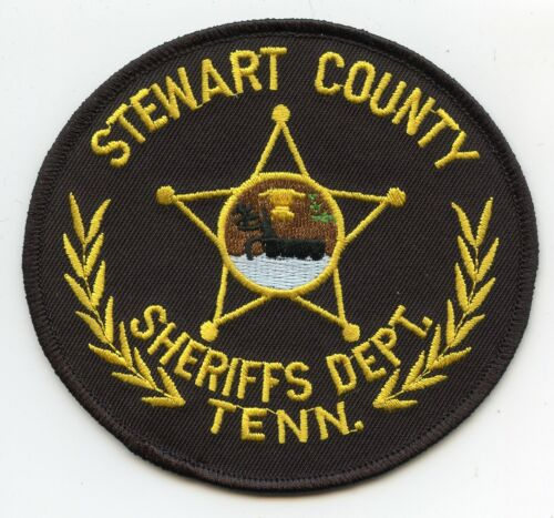 STEWART COUNTY TENNESSEE TN SHERIFF POLICE PATCH