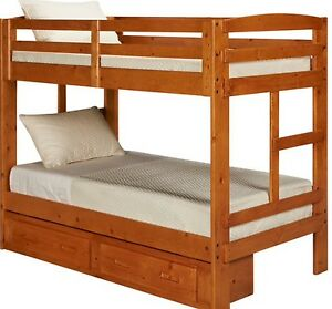 Kids bunk bed without Oak drawers