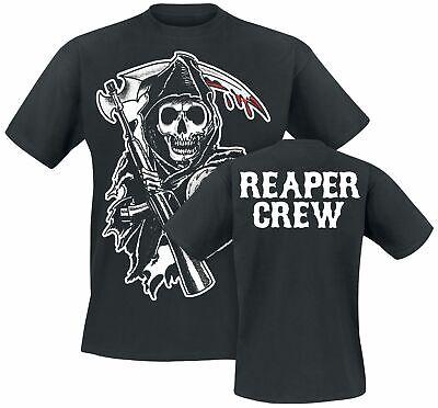 er Crew T-Shirt schwarz (Sons Of Anarchy T-shirts)