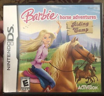 Barbie Horse Adventures: Riding Camp (Nintendo DS, 2008)