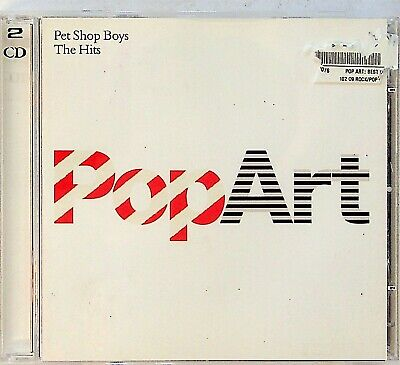 THE PET SHOP BOYS- Pop Art - Best of/Greatest Hits 2-CD (2003) Synth Pop 80s