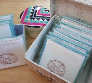 2 Muslin Face Cloths Facial Hot Cloth Cleansing 100% Cotton Individually Wrapped