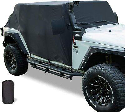 Cab Cover Car Cover for 2007-2020 Jeep Wrangler JK JKU JL JLU