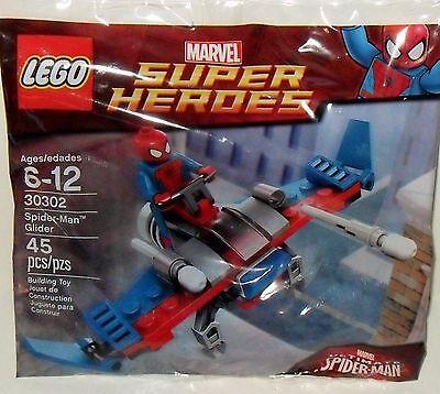 LEGO MARVEL SUPER HEROES *SPIDER-MAN GLIDER* PROMO MINIFIGURE SET 30302 *NEW*