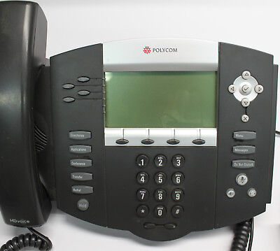 Genuine Original Polycom Soundpoint Ip550 Digital Telephone Voip Replacement 24v