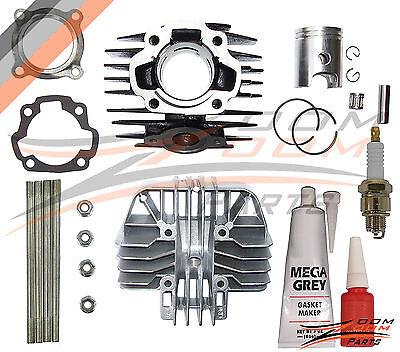 Yamaha Cylinder Gasket (Yamaha PW 80 PW80 Cylinder Gasket Piston Ring Kit Set Top End 1983-2006)