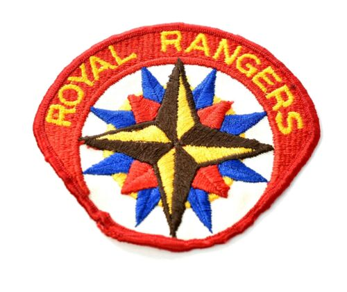 """Royal Rangers Patch 3.5"""" x 4"""" for Youth Costume Uniform c606"""