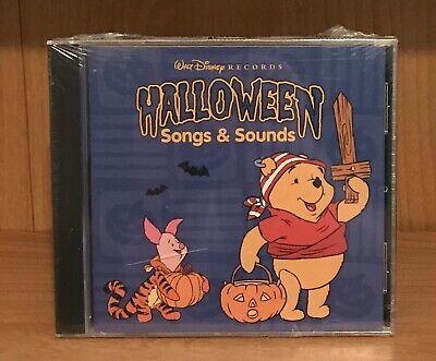 Winnie Pooh Halloween Songs (Halloween Songs and Sounds - Winnie the Pooh, Disney CD)