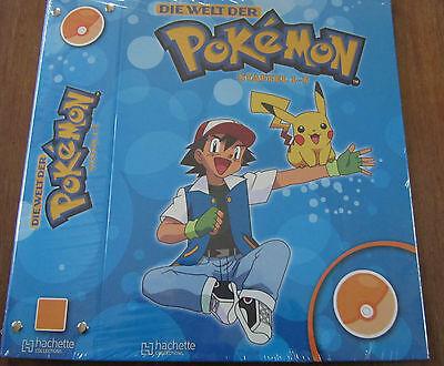 Pokemon Staffel 1 - 3 / Hachette / Sammel Ordner / Neu