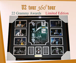 U2-TOUR-360-TOUR-MEMORABILIA-SIGNED-FRAMED-LIMITED-499