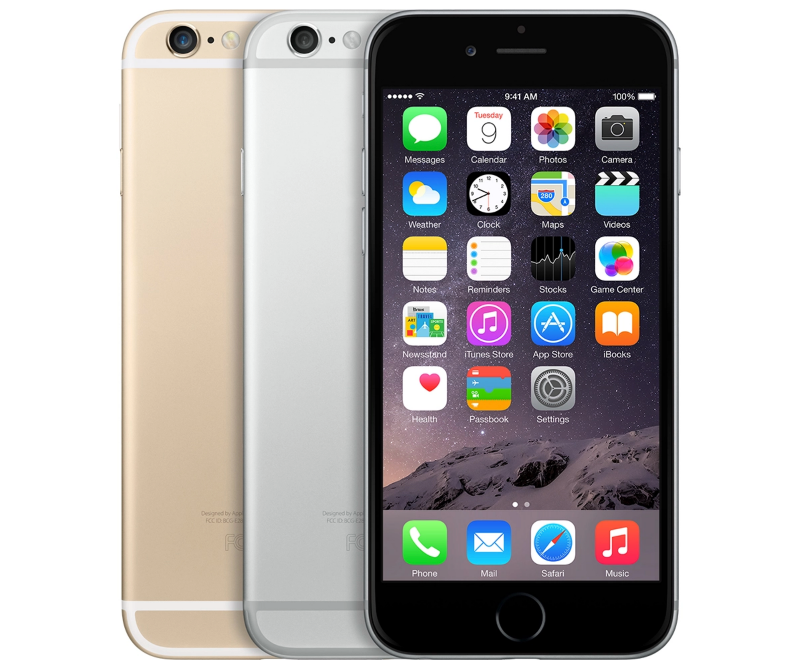 Apple iPhone 6 Silver Space Gray Gold 16GB 64GB 128GB GSM or AT&T